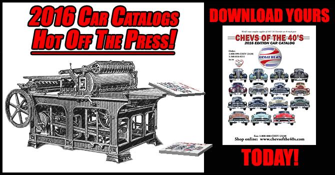 Classic Car Parts Catalog: 1937-1954 Chevrolet Classic