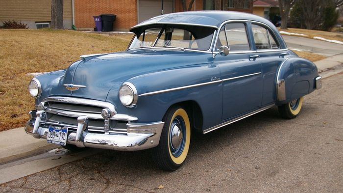 Styline doors 1950 chevy styline deluxe 4 door for 1950 chevy styleline deluxe 4 door sedan