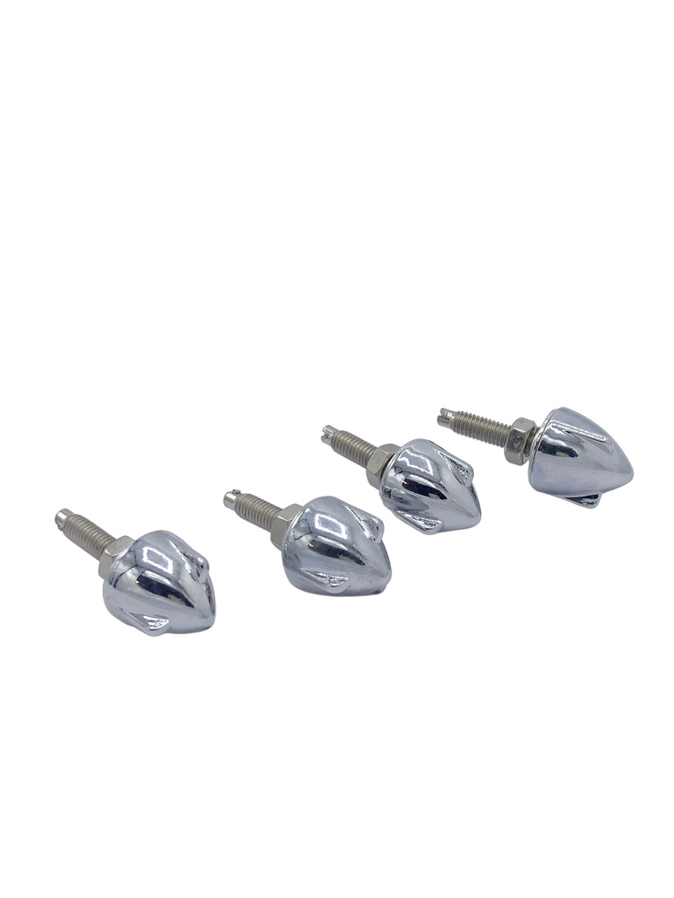 Parts -  Chrome Bullet Wing Nut Fastener