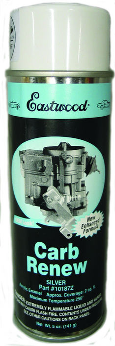 Chevrolet Parts -  Paint - Carb Renew (Silver) 5 Oz. Spray Can