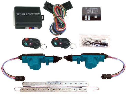 Chevrolet Parts -  Door Lock Kit, Power, Keyless Entry 2-Door