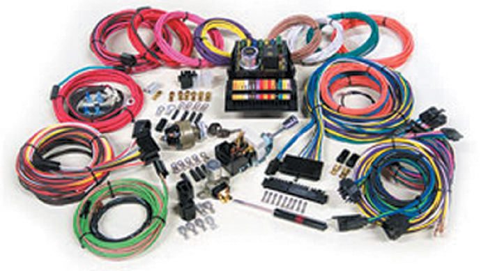 Parts -  Wiring Harness - 'Highway 15' Street Rod Application (Basic Harness)