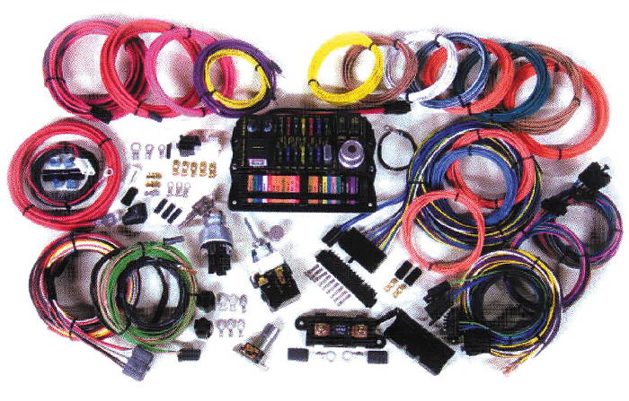 Wiring Kits For Street Rods : Chevy parts wiring harness highway street rod