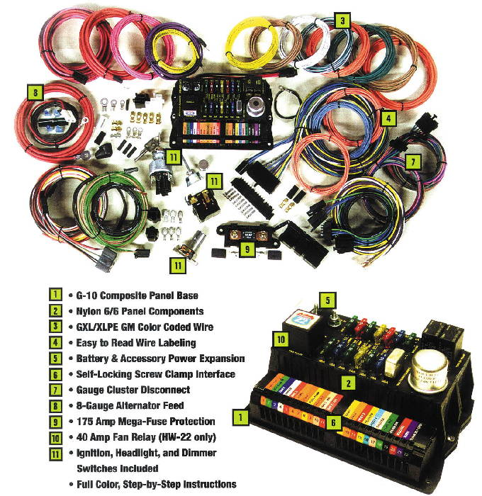13238 chevy parts electrical wiring chevs of the 40s Wiring Harness Diagram at virtualis.co