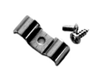 "Parts -  Line Clamps -1/4"" X 1/4"" Double Combination Line Clamp Set Of 6 W/Hardware. Stainless Steel"