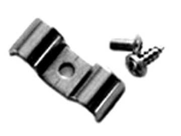 "Parts -  Line Clamps -1/2"" X 1/2"" Double Combination Line Clamp Set Of 6 W/Hardware. Stainless Steel"