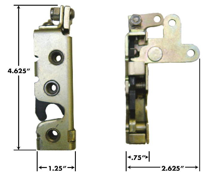 Parts -  Door Latch - Small Bear Claw