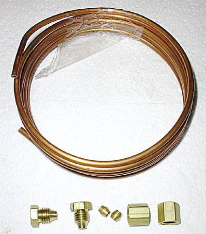 Chevy Parts 187 Oil Pressure Line Engine To Gauge