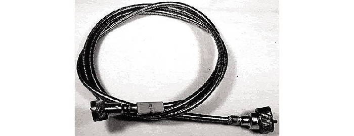 Chevrolet Parts -  Speedometer Cable With Original Metal Housing 49-54 (Except 50-54 Powerglide & Convertible)