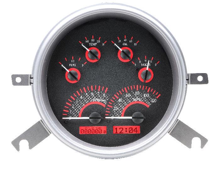 chevy parts instrument gauges dakota digital chevs of the 40s rh chevsofthe40s com Digital Gauges for Classic Cars Dakota Digital Dash