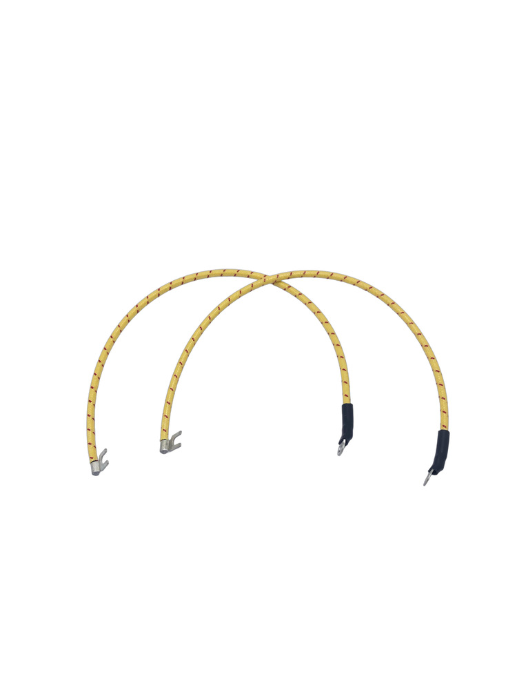 chevy parts  u00bb wiring harness  pigtail on horn  cloth covered