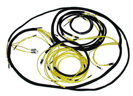 chevy parts electrical wiring chevs of the 40s chevrolet parts wiring harness main original cloth covered chevy truck