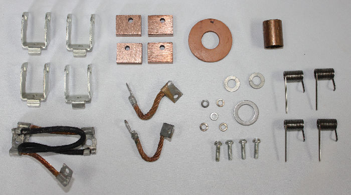 Chevrolet Parts -  Starter Rebuild Kit - Brushes & Bushings