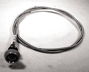 Chevrolet Parts -  Choke Cable Assembly With Knob