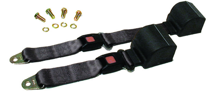 Parts -  Seat Belt -2 Point Retractable Lap Belt