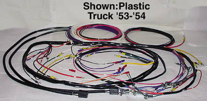 Chevy Parts » Wiring Harness, Main - For Generator With Turn ... on