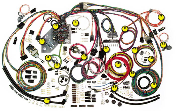 Chevrolet Parts Wiring Harness Street Rod Truck Specific Chevy GMC: Chevy Truck Wiring Harness At Jornalmilenio.com