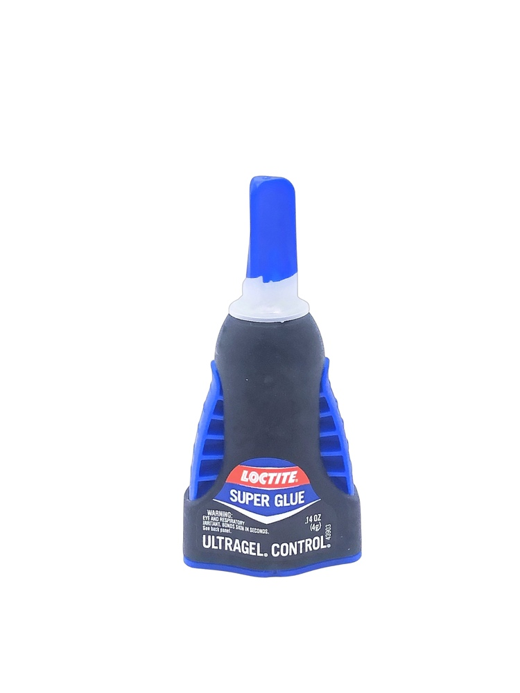 Parts -  Adhesive - Ultra Gel Control Super Glue - For Rubber To Metal & Rubber To Rubber Bonding