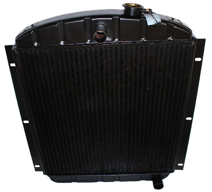 Chevy Parts 187 Radiator Copper Brass 6 Cylinder 3 Core
