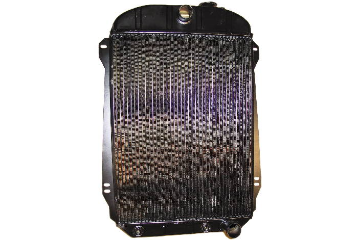 Chevrolet Parts -  Radiator (Copper-Brass) V8 Small Block, 4 Core With Trans Cooler