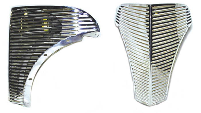 Chevy Parts Grille Laser Cut Gangster Grille