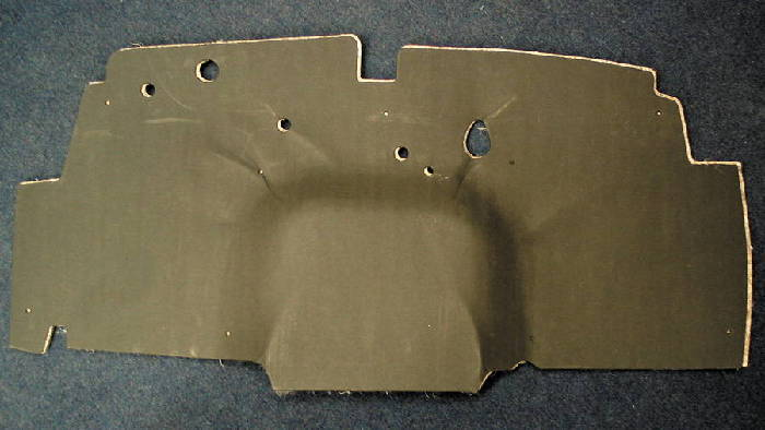 Chevy Parts 187 Firewall Insulation Pad Amp Cover Fiber Board