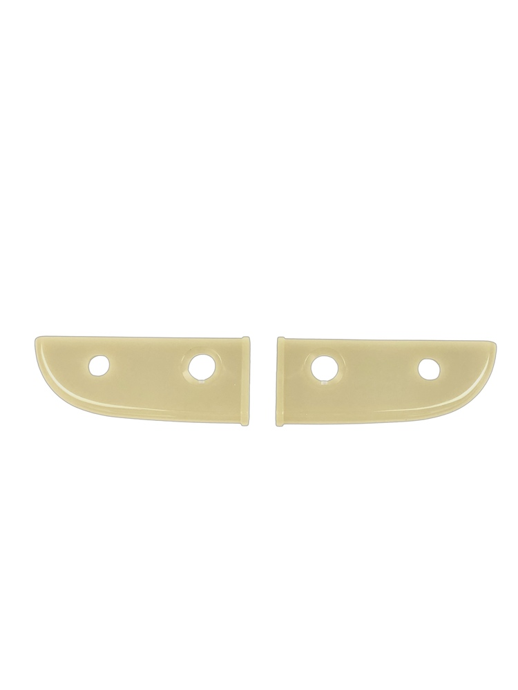 Chevrolet Parts -  Plastic Plate Behind Choke & Throttle. Ivory