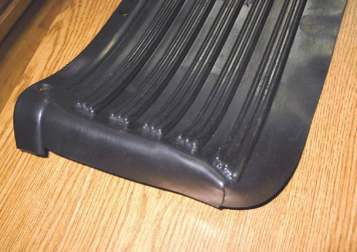 Chevy Parts » Running Board Mat -Rubber (Originally On ...