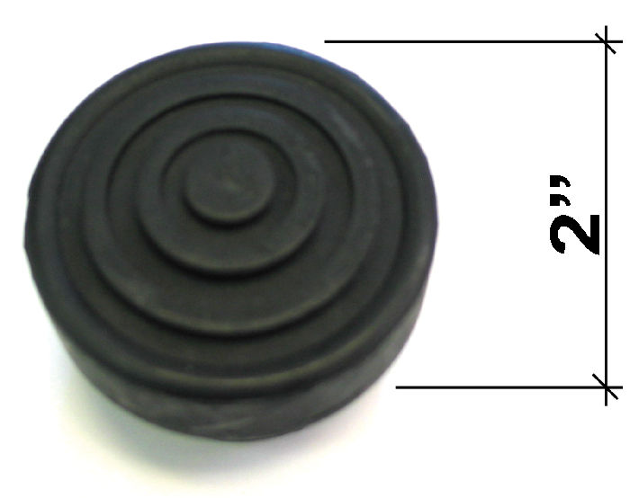 Chevrolet Parts -  Starter Pedal Pad - Rubber Button For Foot Starter