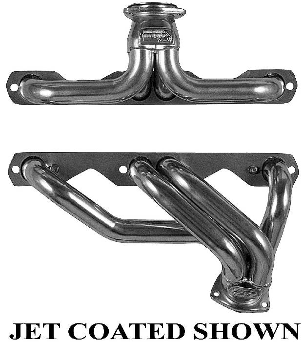 Chevy Parts » Headers, Sanderson -For Stock Steering