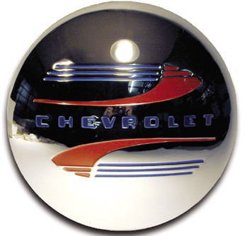 Chevrolet Parts -  Hub Cap, Modified For Nostalgia Wheel