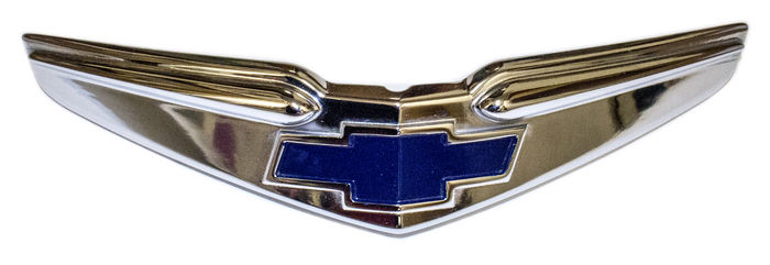 Parts -  Hood Emblem - Chrome With Painted Details