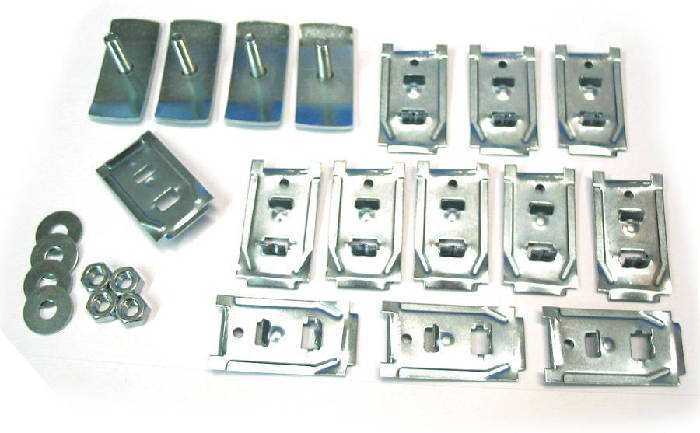 Chevrolet Parts -  Rocker Moulding Clips & Bolts