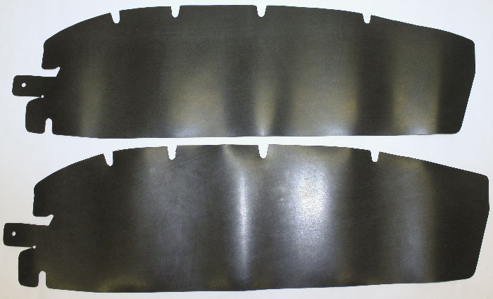 Chevrolet Parts -  Door Seal, To Hinge, Die Cut Rubber