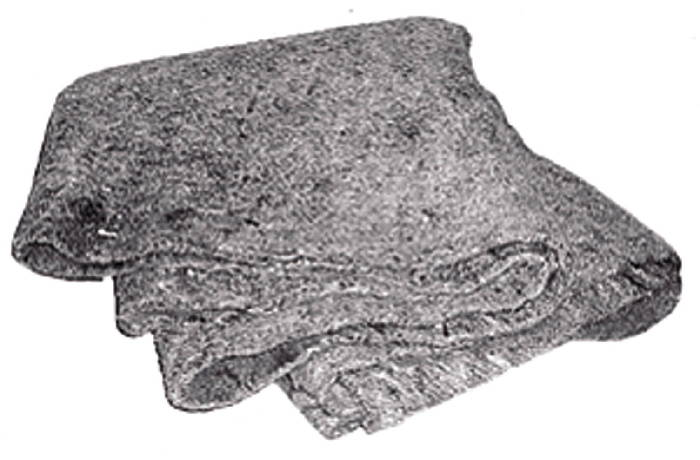 Chevrolet Parts -  Body Sound Deadener, Jute Insulation Pad -Floor Mat (3' X 6')