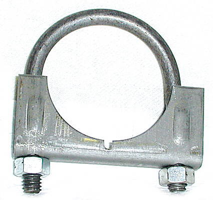 Chevrolet Parts -  Exhaust Muffler Clamp-Front (Except Powerglide) 1-7/8""