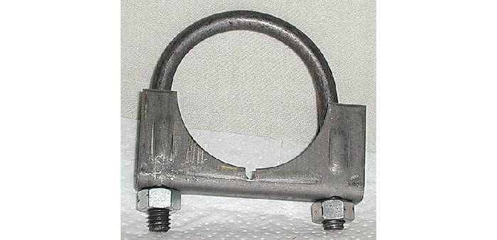 Chevrolet Parts -   Exhaust Muffler Clamp -Rear, Manual Trans. 1-5/8""