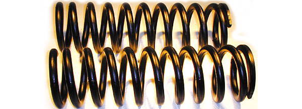 Chevrolet Parts -  Coil Springs (Except Powerglide & 49-52 Convertible)