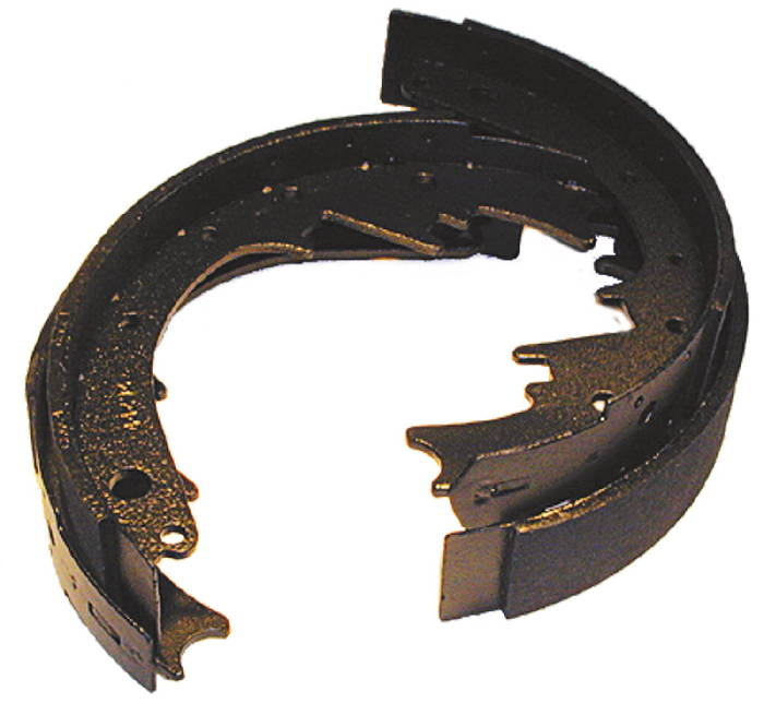 Chevrolet Parts -  Brake Shoes -Rear -2 Wheels ($15 Core), Car & 1/2 Ton