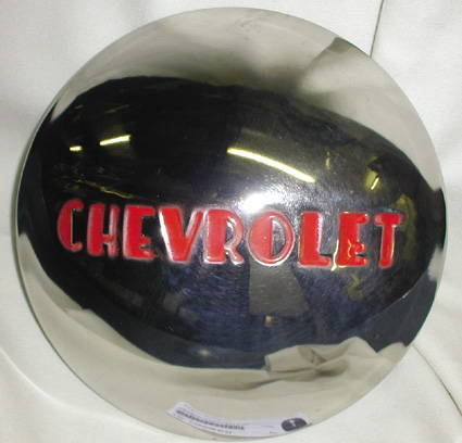 Chevy Parts 187 Hub Cap 1 2 Ton Modified For Rally Wheel