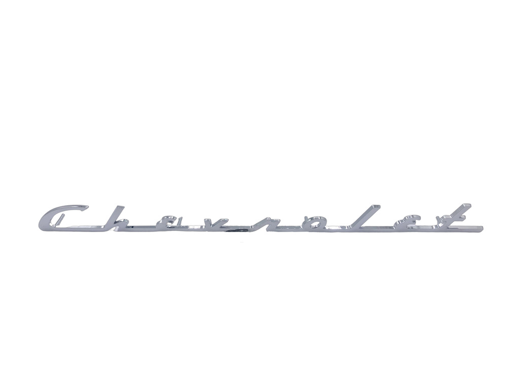 "Chevrolet Parts -  Script On Trunk Lid ""Chevrolet"""