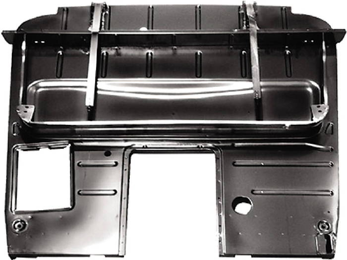 Chevy Parts 187 Floor Panel Complete With Seat Riser