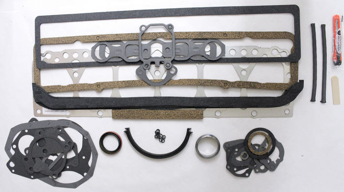 Chevrolet Parts -  Gasket Overhaul  Set, 235ci