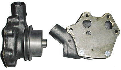 Chevrolet Parts -  Water Pump With Pulley ($75 Core)
