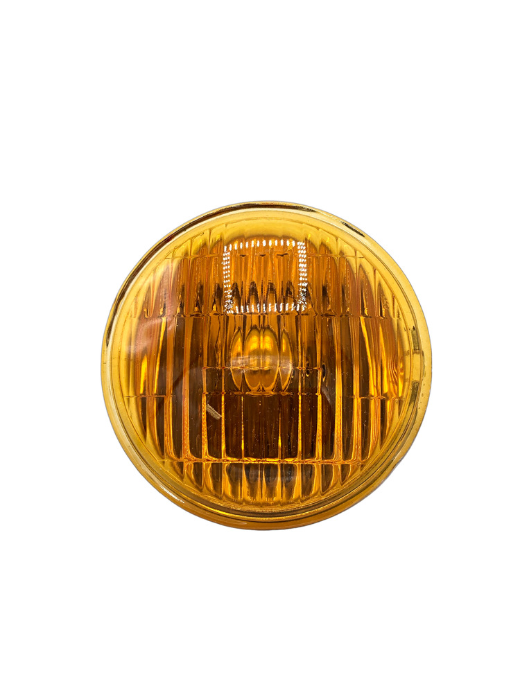 Chevy Parts 187 Light Fog Amber Sealed Beam Lamp 4015a 6v