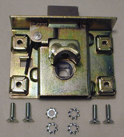 Chevy Parts 187 Latch Mechanism Trunk Fits Cabriolet