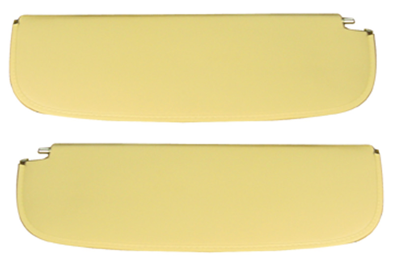 Chevrolet Parts -  Sunvisor Set Presewn And Ready To Use