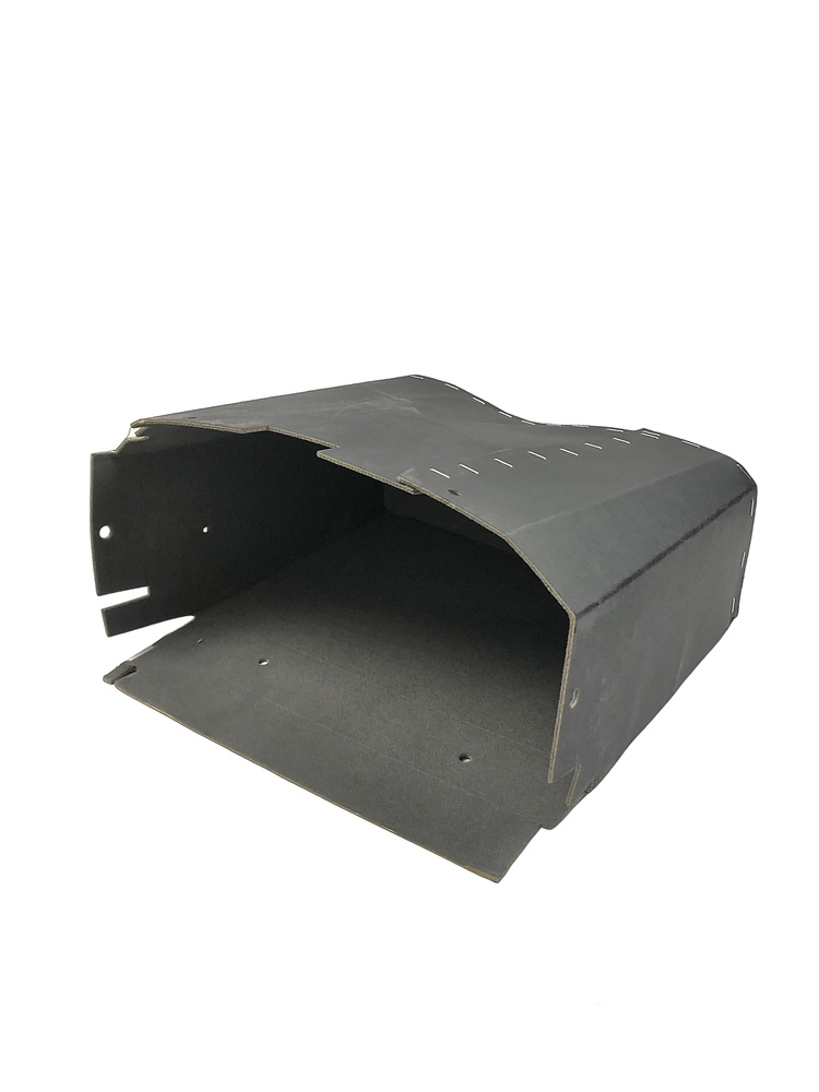 Chevrolet Parts -  Glove Box - Cloth Lined With Clips