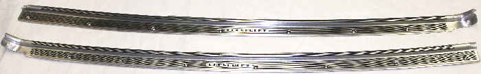 Chevrolet Parts -  Sill Plates -Coupe, 2-Door Master Deluxe, Master 85