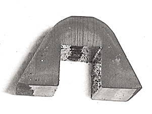 Chevrolet Parts -  Convertible Top, Bumper, Cushions - For Side Rail Hinge. Cements To Steel Core